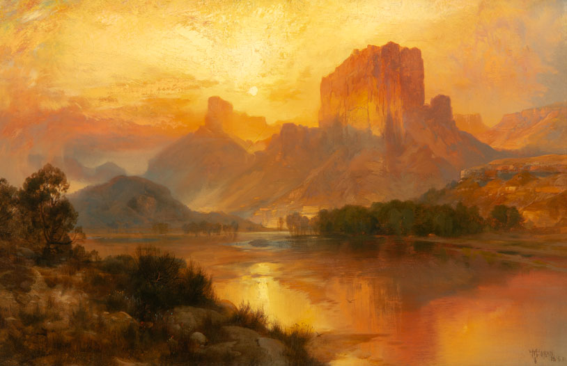 Thomas Moran – Green River, Wyoming (1883)